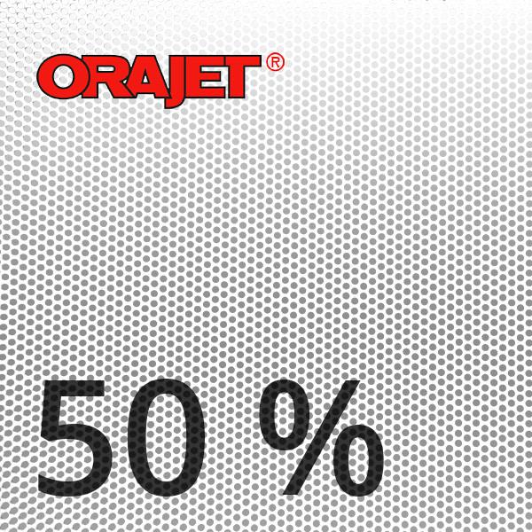 Orajet 3675 - Window Graphics, 50% bedruckbar, 140 µ, bis 3 Jahre