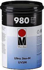 Ultra Star-M UVSM - Marabu-UV-Siebdruckfarbe - matt, hoch deckend schnell migrationsarm