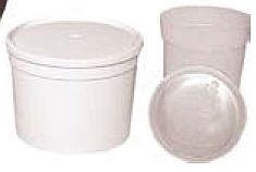 PP-Kunststoffdose 0,5 - 5,3 L
