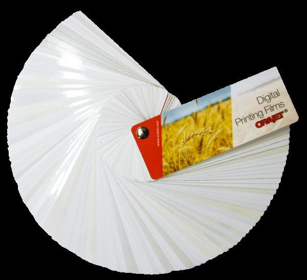 Musterfächer Orajet Digital Printing Films