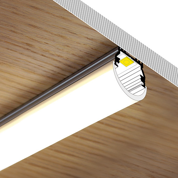 LED Profil P14, Universal 12mm