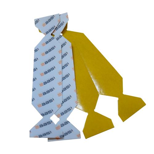 Textil-Alcantara Rakelstreifen mit Flügel