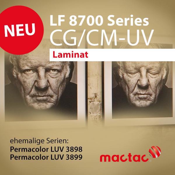 LF 8700 CM-UV & LF 8700 CG-UV - UV-Laminat