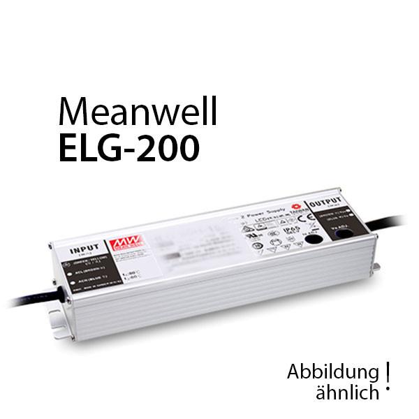 Meanwell ELG-200-12DA-3Y Netzteil 192W 12V 16A / IP67