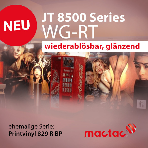 JT 8500 WG-RT (Printvinyl 829 R) Digitaldruckfolie