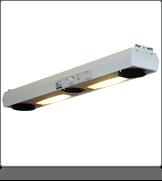 Modulmounter Antistatik-3-Gebläse Deckenmontage