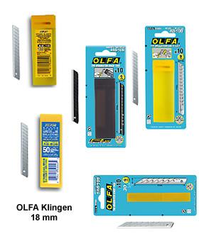 Olfa Ersatzklingen - 9 mm