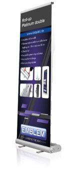 RollUp PLATINUM - RollUp-Display 1-seitig