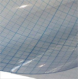 Millimeterrasterfolie 90 x 120cm
