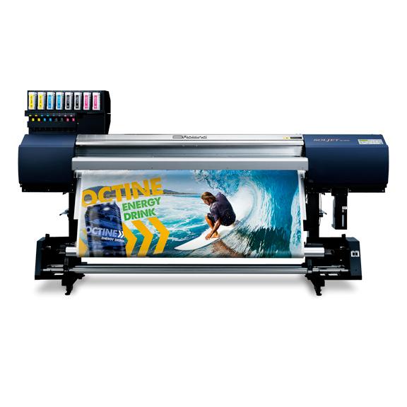 Roland SolJet EJ-640 - 4-7 Farben, 1 Liter Tintenkartuschen