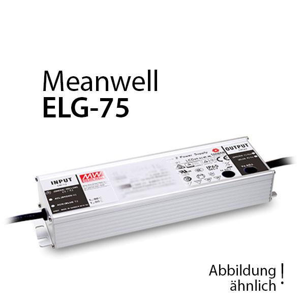 Meanwell ELG-75-12DA-3Y Netzteil 60W 12V 5A / IP67