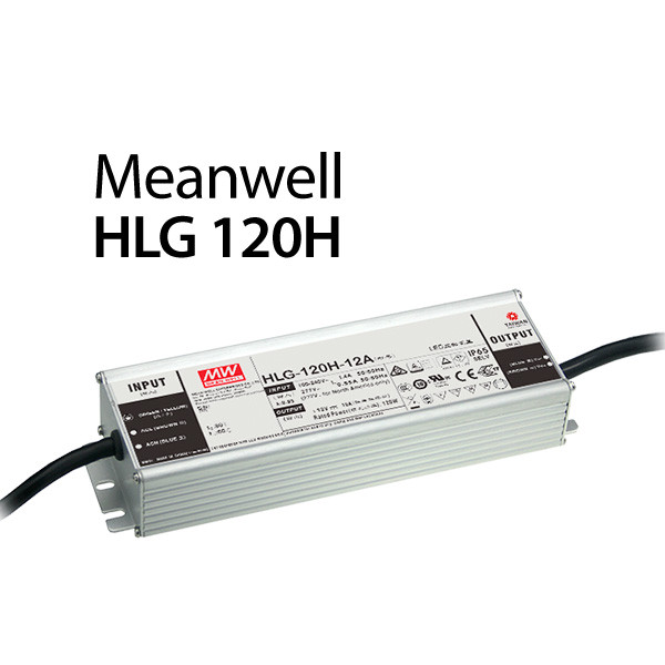 Meanwell HLG-120H-24B Netzteil 120W / 24V / 5A dimmbar