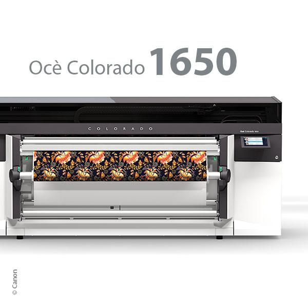 Océ Colorado 1650, UVgel-Inkjetdrucker