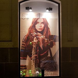 Window Graphics Clear Focus BudgetVue 1533, weiss