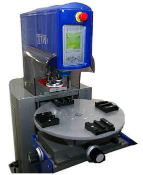 TTN Tampondruckmaschine EKO 90 VTE einfarbig mit Drehteller
