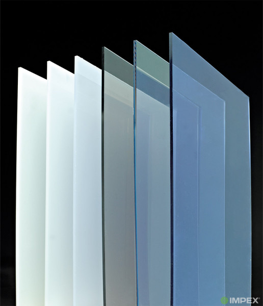 Impex® Polycarbonatplatten klar 5mm
