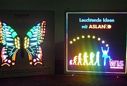 ASLAN W15 + W16, transluzente Blockout-Folie