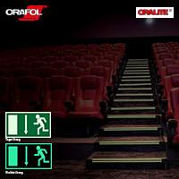 Oralux 9300 Luminescent Cast - Nachleuchtende Folie, für den Siebdruck