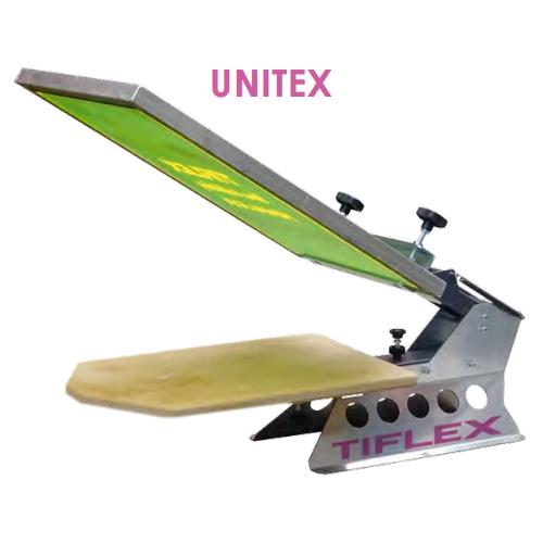 Tiflex LC UNITEX - einfarbiger Textil-Handdrucktisch