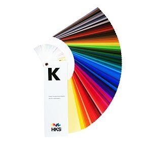 Farbfächer HKS-K, glänzend (coated)