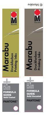 Marabu Pantone Farbfächer-Set-2016/2019